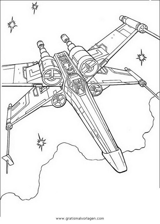 starwars_13 in science fiction gratis malvorlagen MALOWANKI - new coloring pages about science