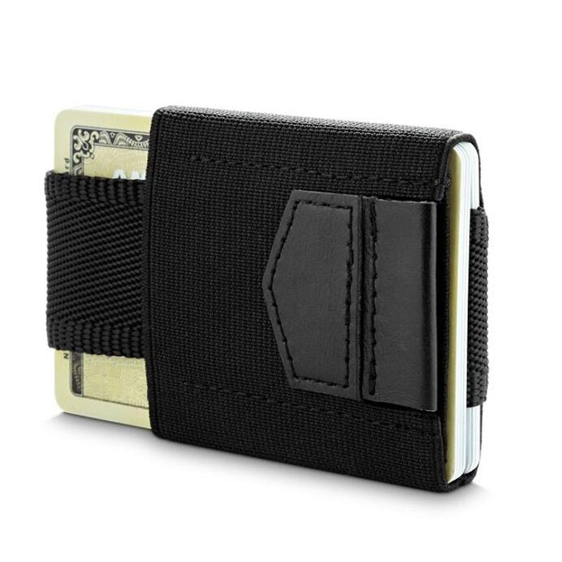 Minimalist Slim Wallet Men Women Mini Wallets Small Business Drivers ...