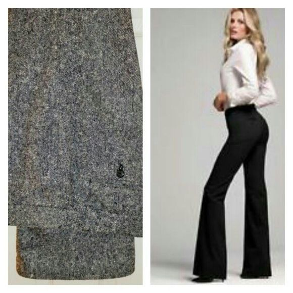 d42c1476fc8 Small Tall Donegal Tweed Slacks Christie fit by Victoria s Secret flared  dress slacks. Wool acrylic blend
