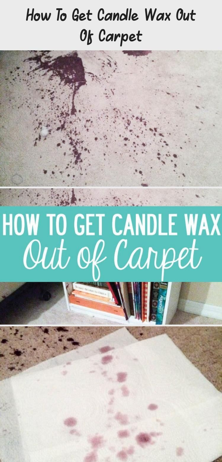 How to remove candle wax from carpet2