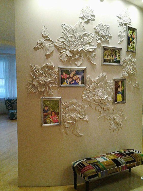 Du relief sur les murs relief d corations murales et murale for Decoration sur les murs