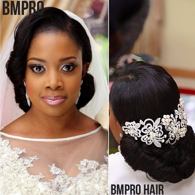 loveweddingsng's photo on Instagram Bridal hair