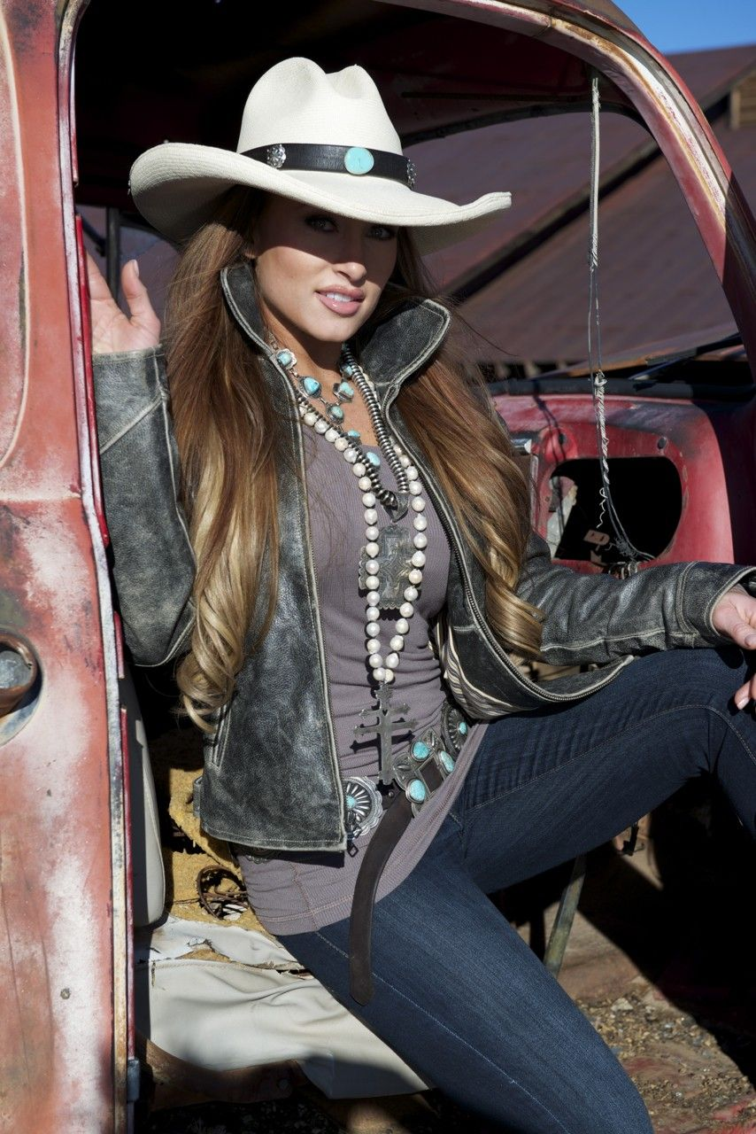 Laura McClure's Amazing Photography of Brit West - Vintage Leather Hatband