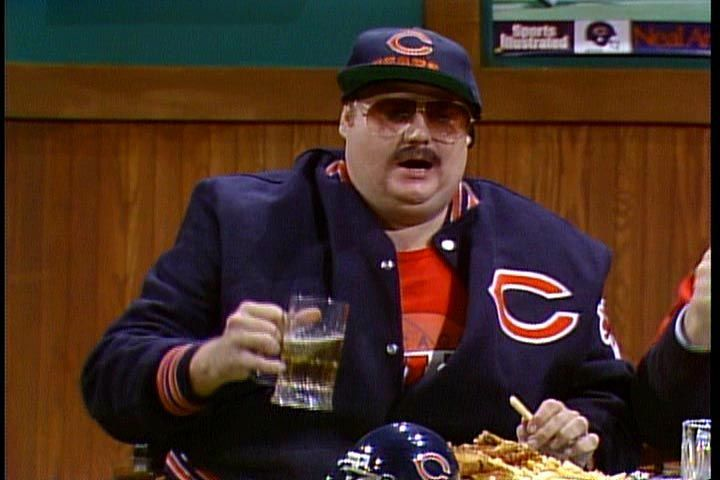 snl chicago bears costume  8386fbac6