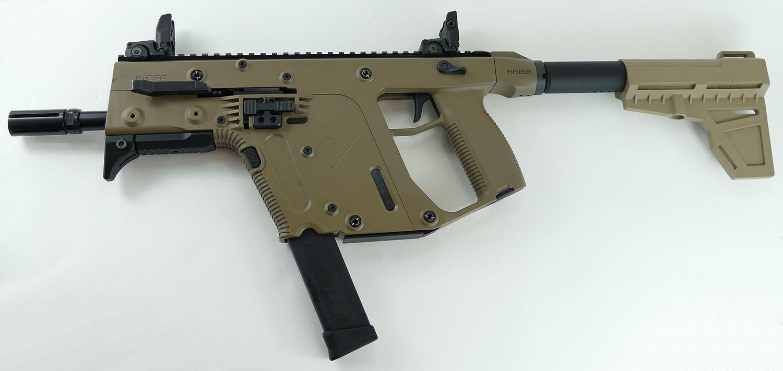 Kriss Vector Gen II 45 ACP Pistol FDE with Shockwave, Like