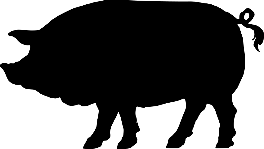 Pig Silhouette Clipart Best Pig Silhouette Silhouette Free Silhouette Clip Art