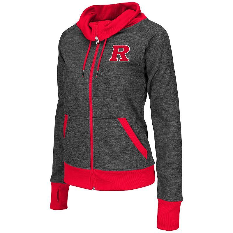 Women's Campus Heritage Rutgers Scarlet Knights Velocity Full-Zip Hoodie, Red Other