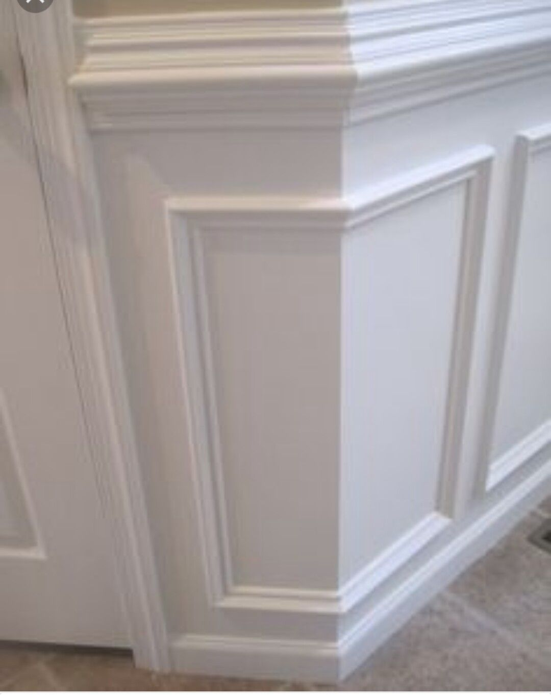 Di diy wainscoting dining room - Great Clean Look For Wainscoting