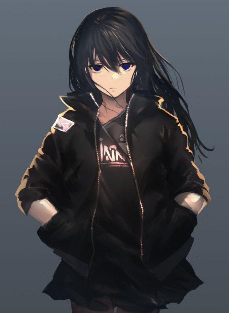 I M Cold Girl Gadis Manga Gadis Animasi Fotografi Potret Wanita