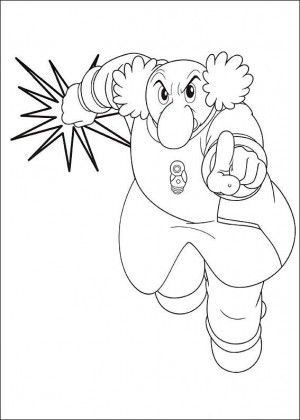 Astro Boy Coloring Page 10 With Images Coloring Pages For Boys