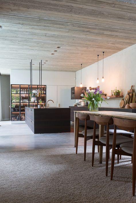 68+ Trendy Kitchen Black Concrete Ceilings | Kitchen ...