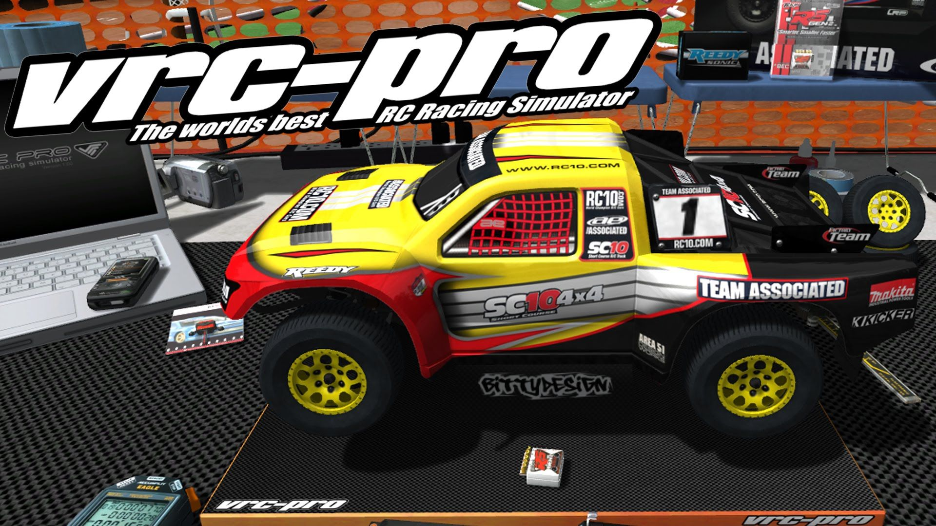 Check'n Out.. VRC Pro - The Best R/C Racing Simulator
