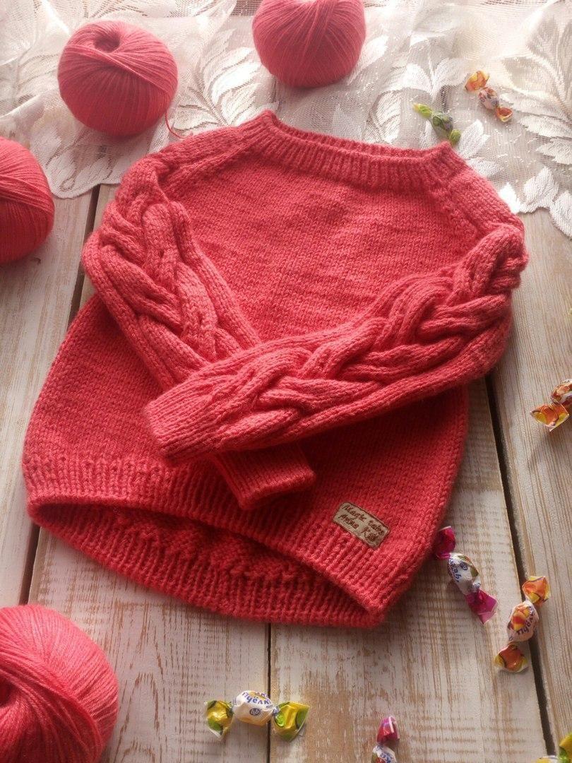 Выкройки свитера для детей