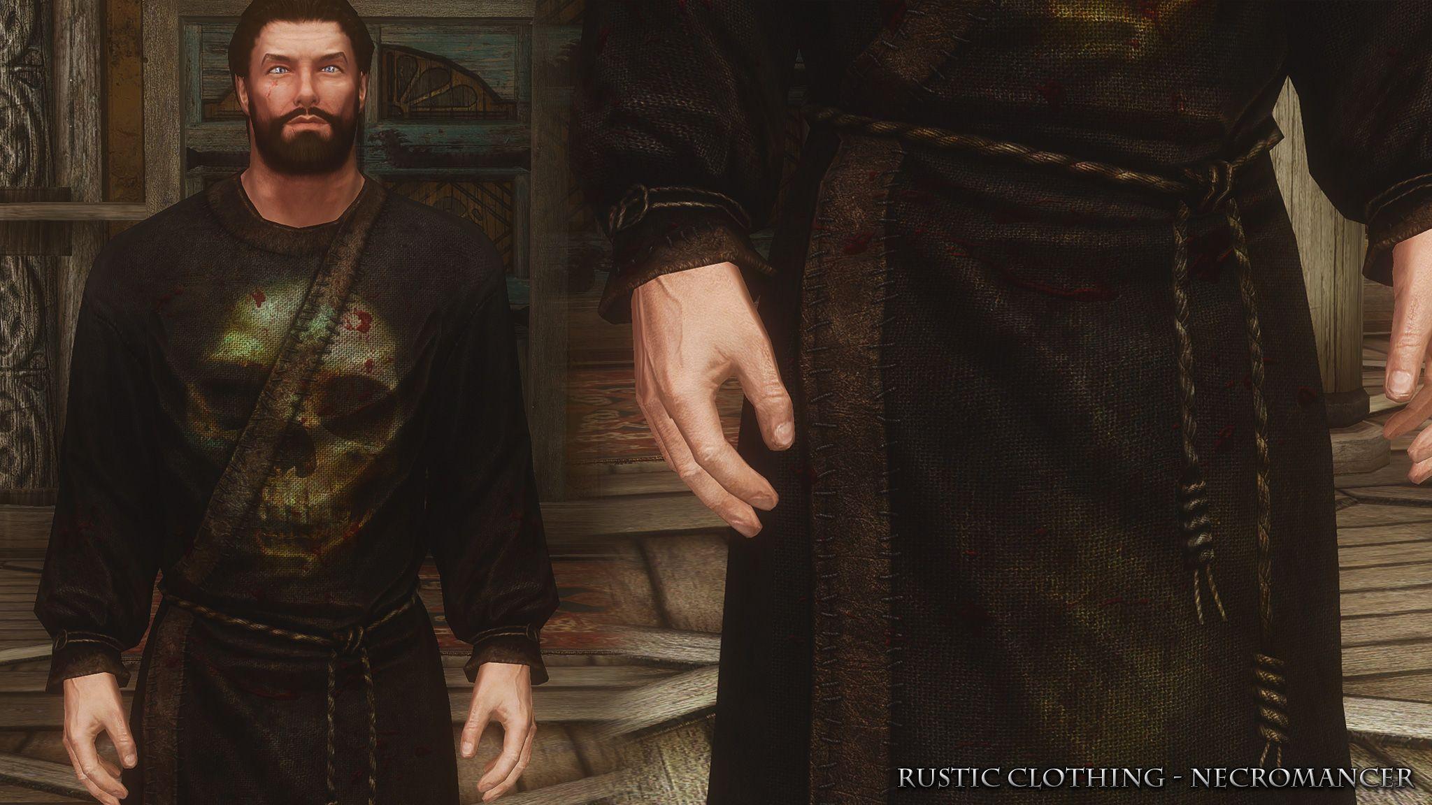 Gracie: Skyrim Se Male Clothing Mods