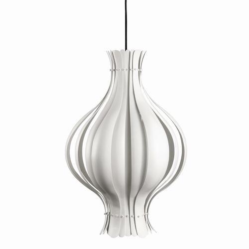Onion Pendant White