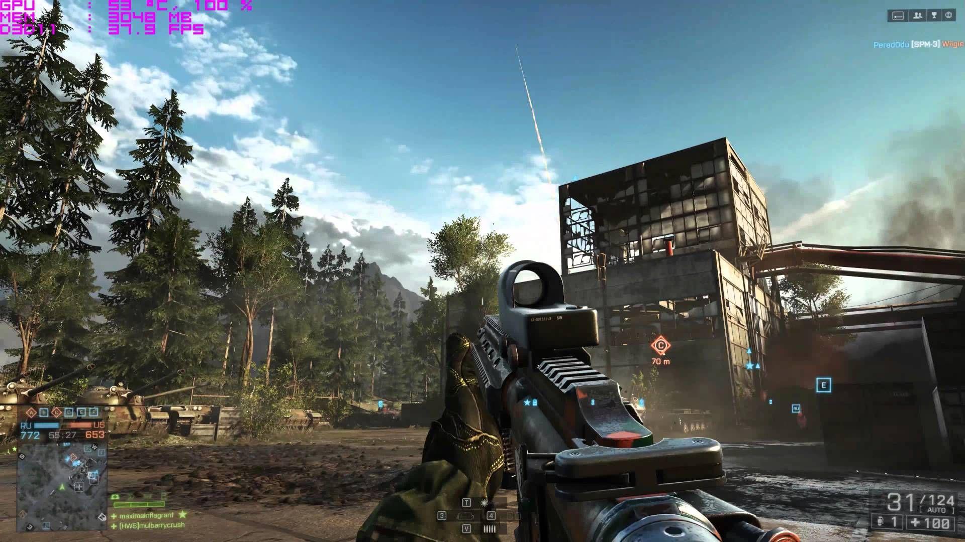 XFX Radeon R9 Fury X Battlefield 4 UHD 4K FPS Ultra Settings