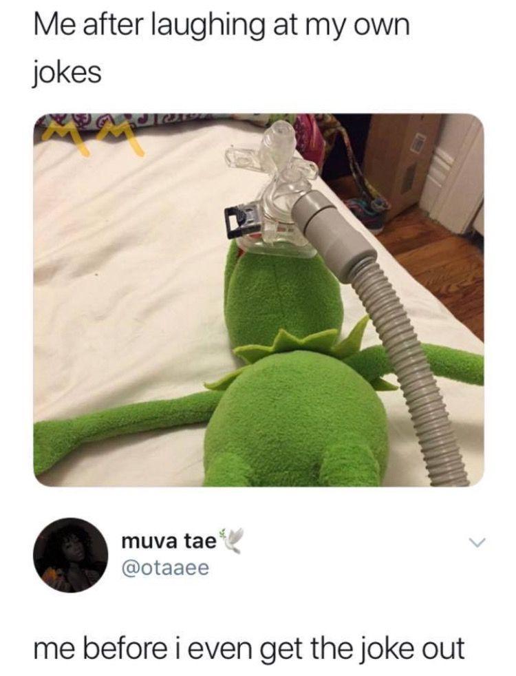 Kermit Getting Choked : kermit, getting, choked, Funny/Relatable