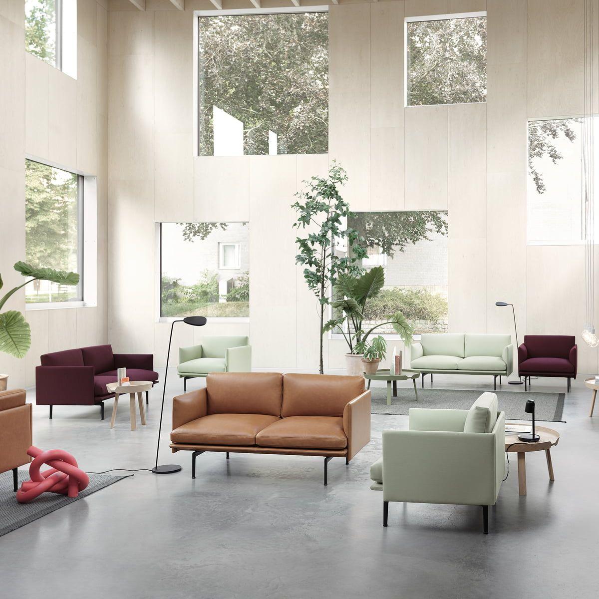 Muuto Outline Studio Sofa 2 Seater Scandinavian Sofa Design Contract Furniture Furniture