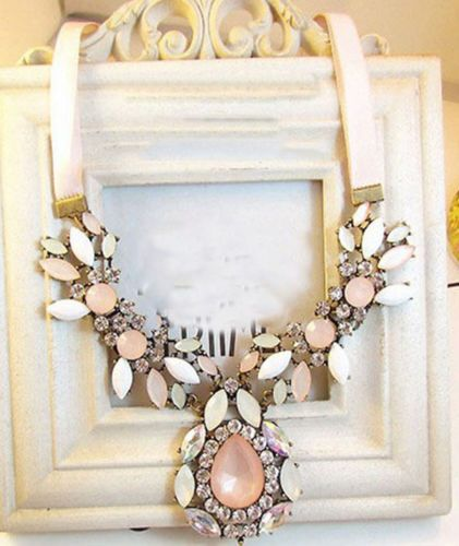 New Design Lady Bling Bib Statement Gorgeous Crystal Cluster Necklace Collar | eBay