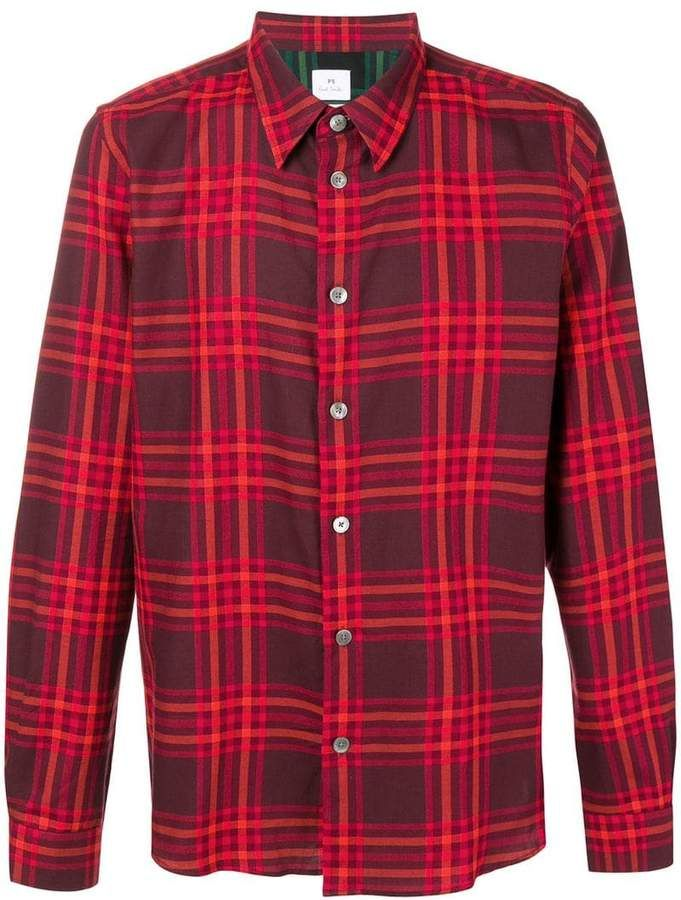 00bc4b9a8f523f Paul Smith checked shirt | Products | Check shirt, Paul smith, Shirts