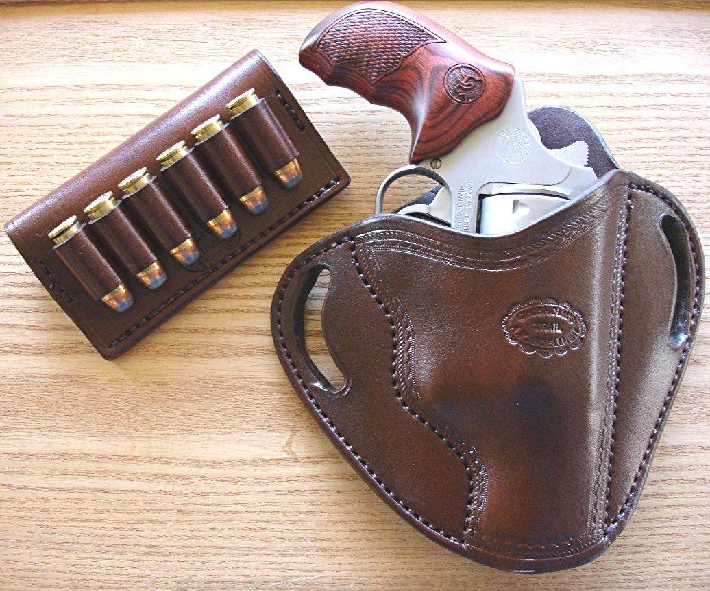 Steel Frame Taurus Judge PD IWB Dual Snap Holster LEFT Hand Black