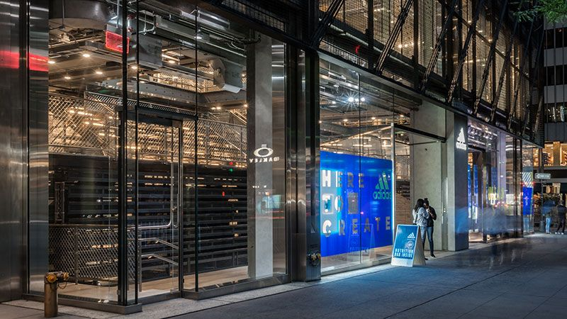 Adidas Originals Flagship Store in New York my favourite