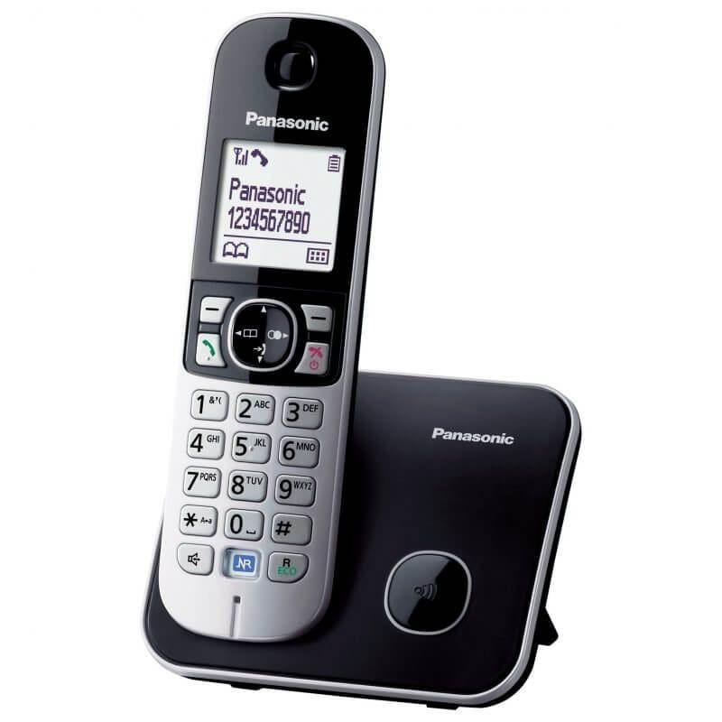 Panasonic Kx Tg6811 Single Dect Cordless Telephone Cordless Phone Cordless Telephone Phone