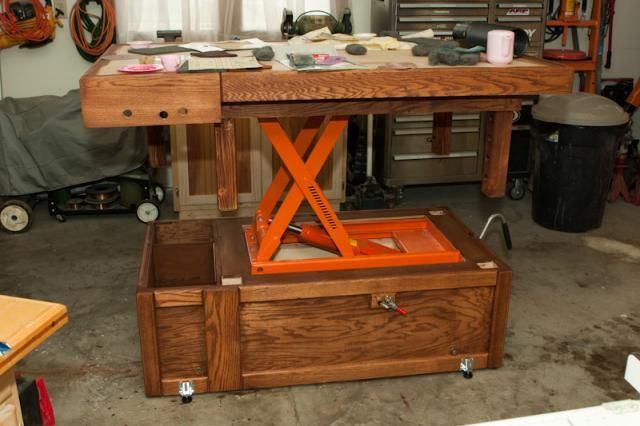 Very Interesting Adjustable Workbench Assembly Table Height