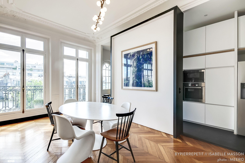 Rénovation d\'un appartement Haussmannien dans le centre de Paris ...