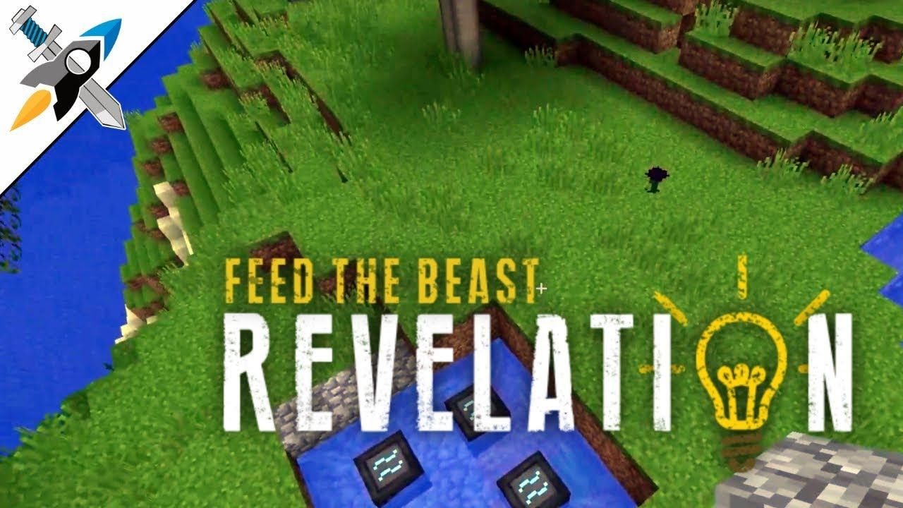 FTB Revelation - Learning to fly, but I ain't got wings