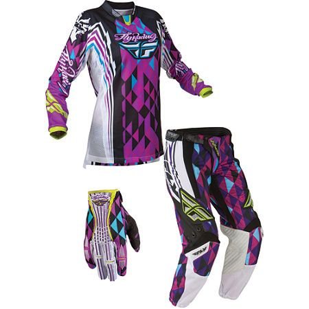 Great Deal On 2012 Fly Womens Kinetic Racing Combo Follow Us To
