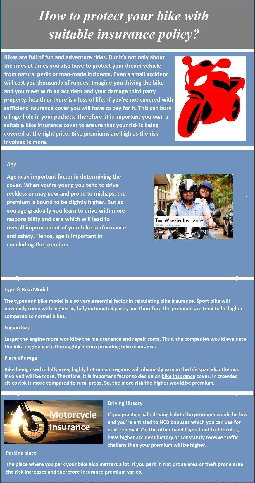 Buy Two-Wheeler Insurance in 4 easy steps. It provides ...