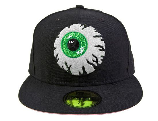 6d6e528bf9a MISHKA x NEW ERA「Keep Watch Black Green」59Fifty Fitted Baseball ...