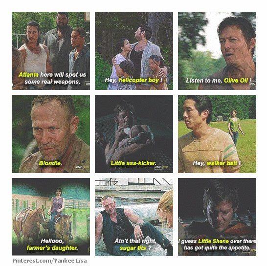 I Wonder What My Walking Dead Nickname Would Be Fear The Walking Dead The Walking Dead The Walking Dead 2