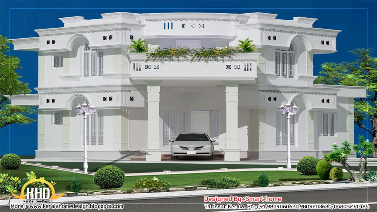House Front View Design Ideas Kerala House Design 2 Storey House Design Bungalow House Design