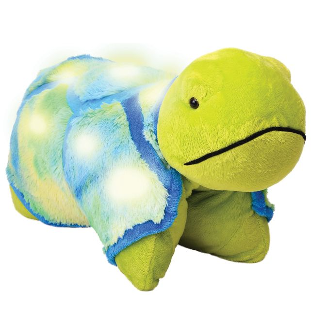 Here S A New 16 Pillow Pet Friend The Glow Turtle Animal Pillows Pet Turtle Turtle Plush