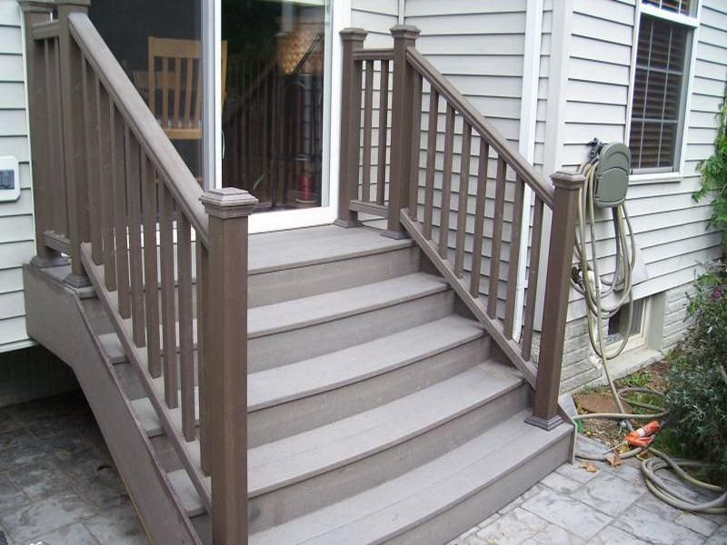 Best Trex Curve Decking Stair Problems Patio Stairs Deck 400 x 300