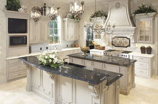Double Islands Provide Functionality In Kitchen Design | Art for ...