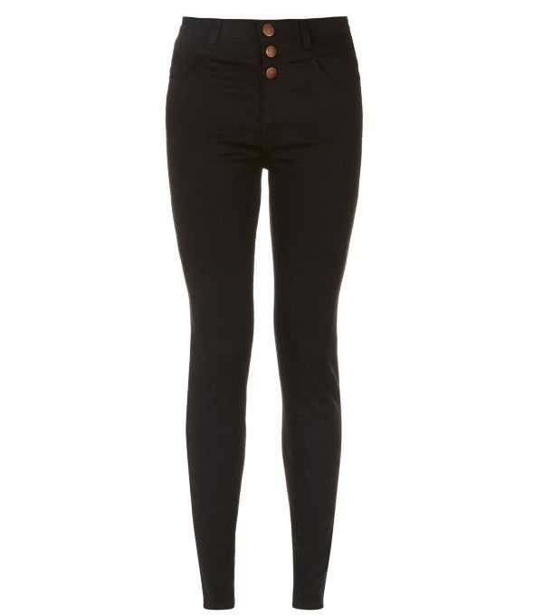 Black High Waist Super Skinny Jeans | Super skinny jeans, Super ...