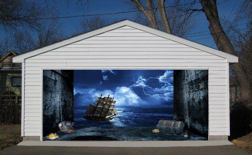 Cool Garage Door Vinyl Decal Garage Door Design Garage Doors Decor