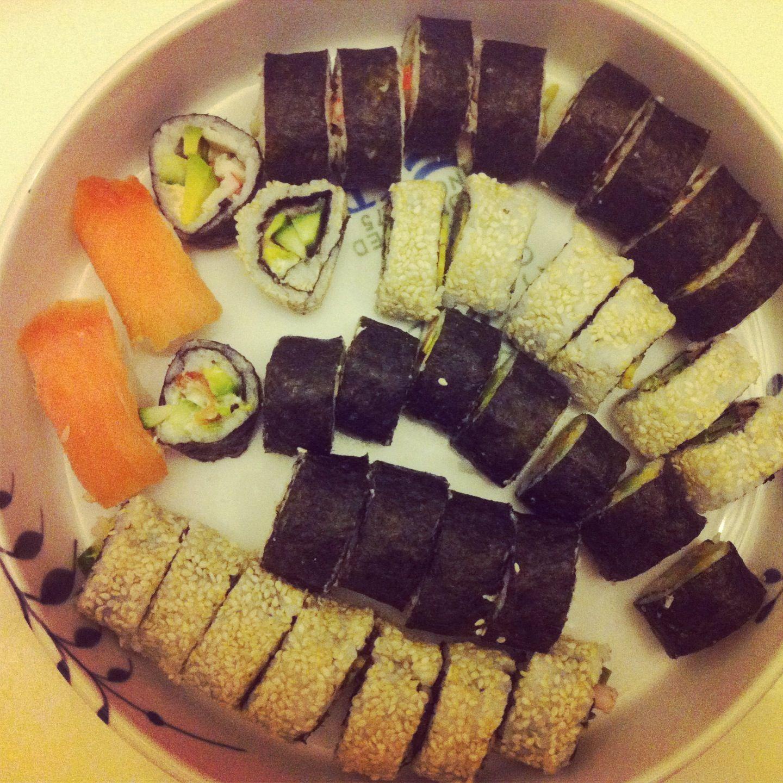 Homemade sushi ❤