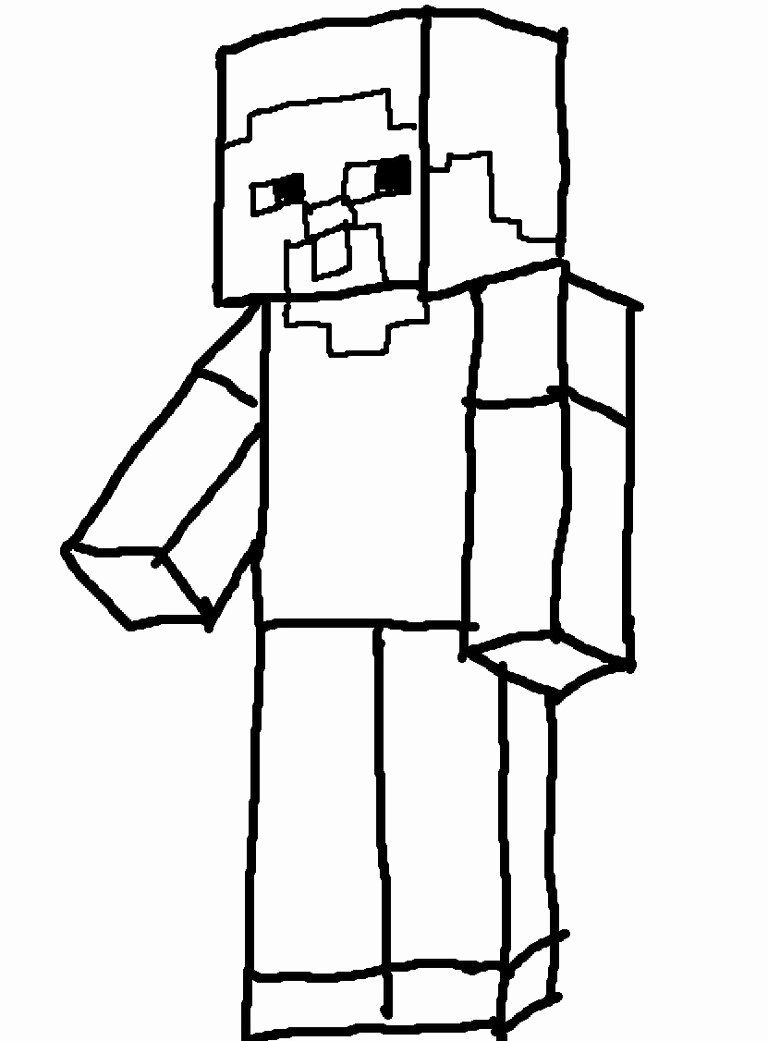 Minecraft Steve Coloring Page Beautiful Bathroom Coloring Pages Minecraft Steve Alex And For In 2020 Coloring Pages Minecraft Steve Mermaid Coloring Pages