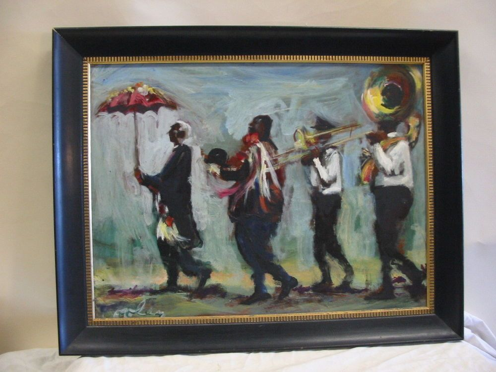 Jack cooley new orleans artist jazz musicians funeral band