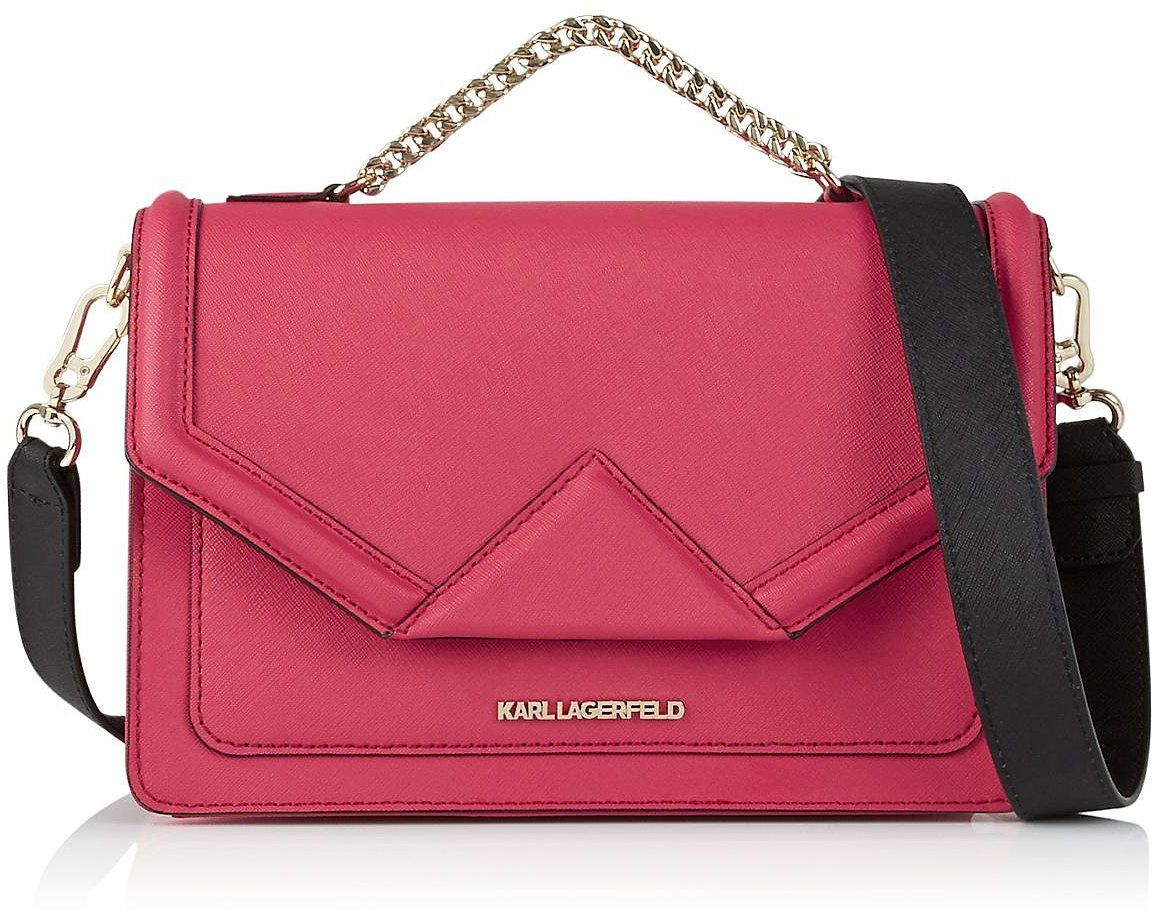K/Klassik quilted small crossbody bag - Green Karl Lagerfeld eSYmp