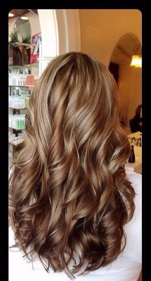 Dark Blonde With Caramel Highlights