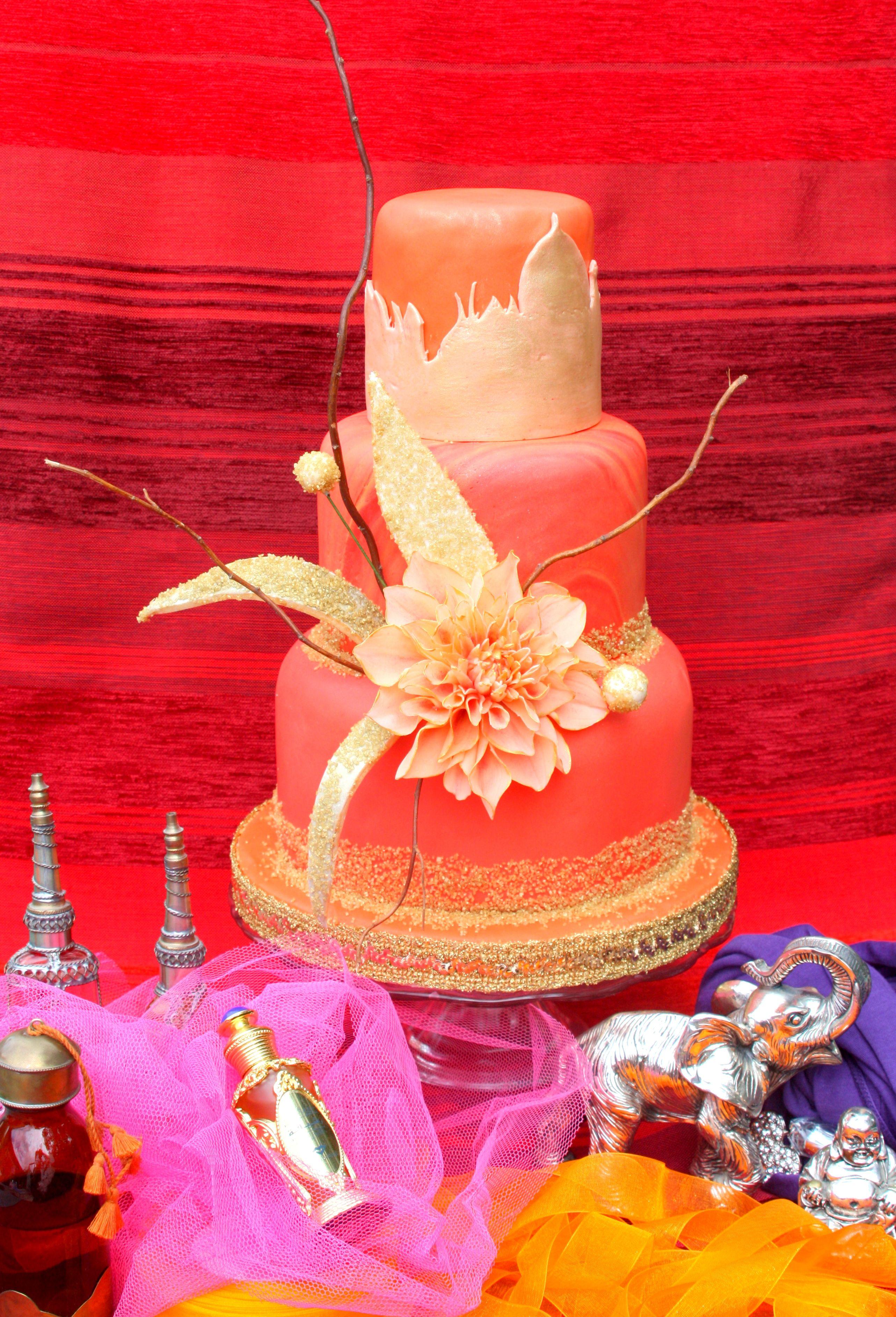this cake is for cucina chic cake design magazine   oriental ...