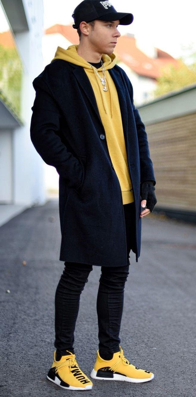64bd9649f71f Pin by GÀÑG on FÄŚHĮØŃ   Pinterest   Mens fashion, Winter outfits men and  Fashion
