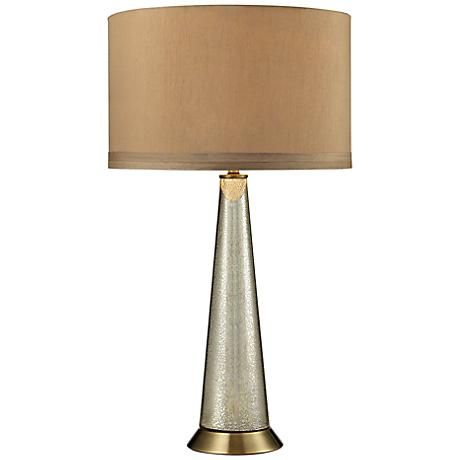 Middlebury Mercury Glass Table Lamp 7r957 Lamps Plus Antique Table Lamps Mercury Glass Lamp Table Lamp