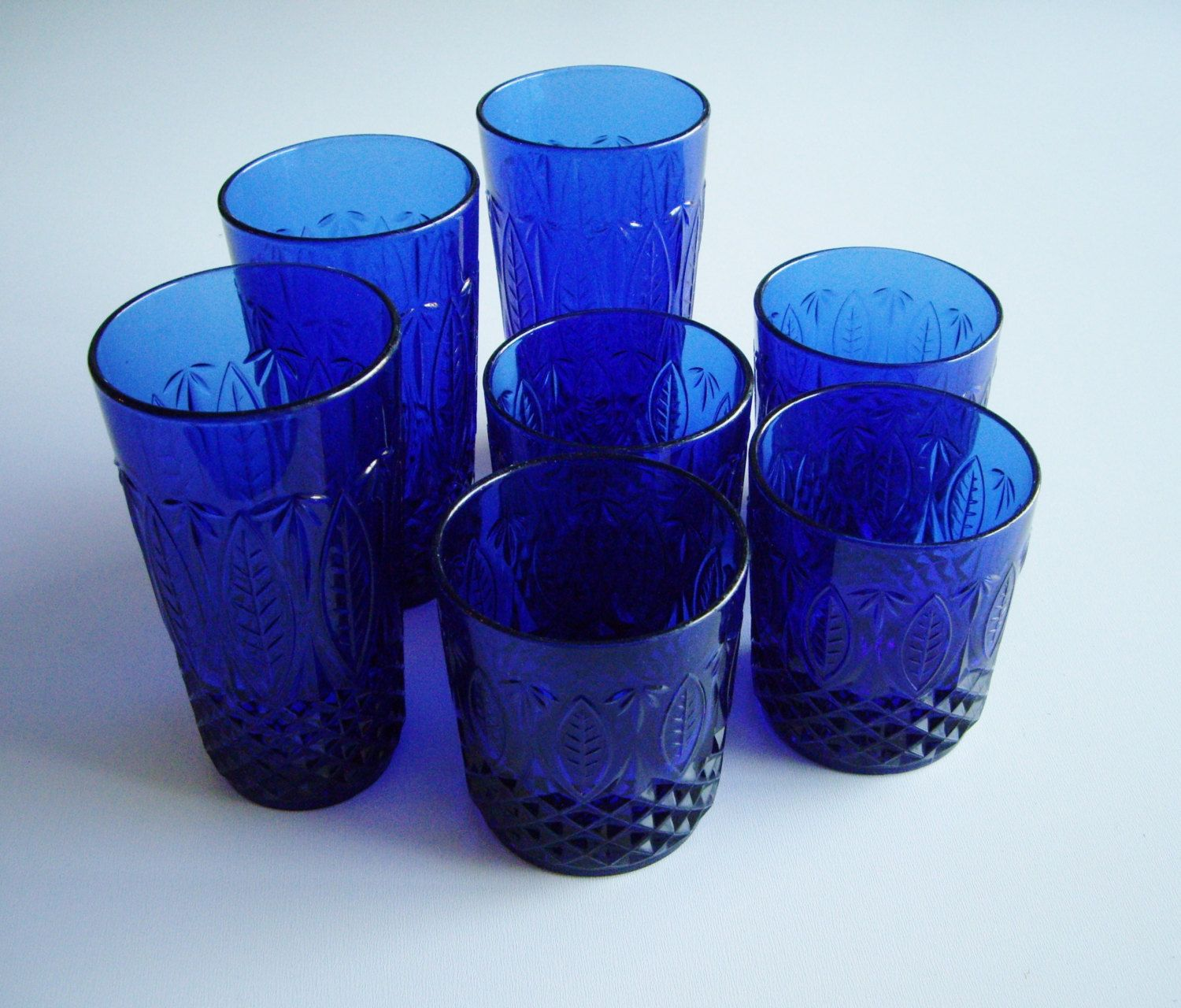 shop holder stretch sticks antique candle northwood glass sapphire blue