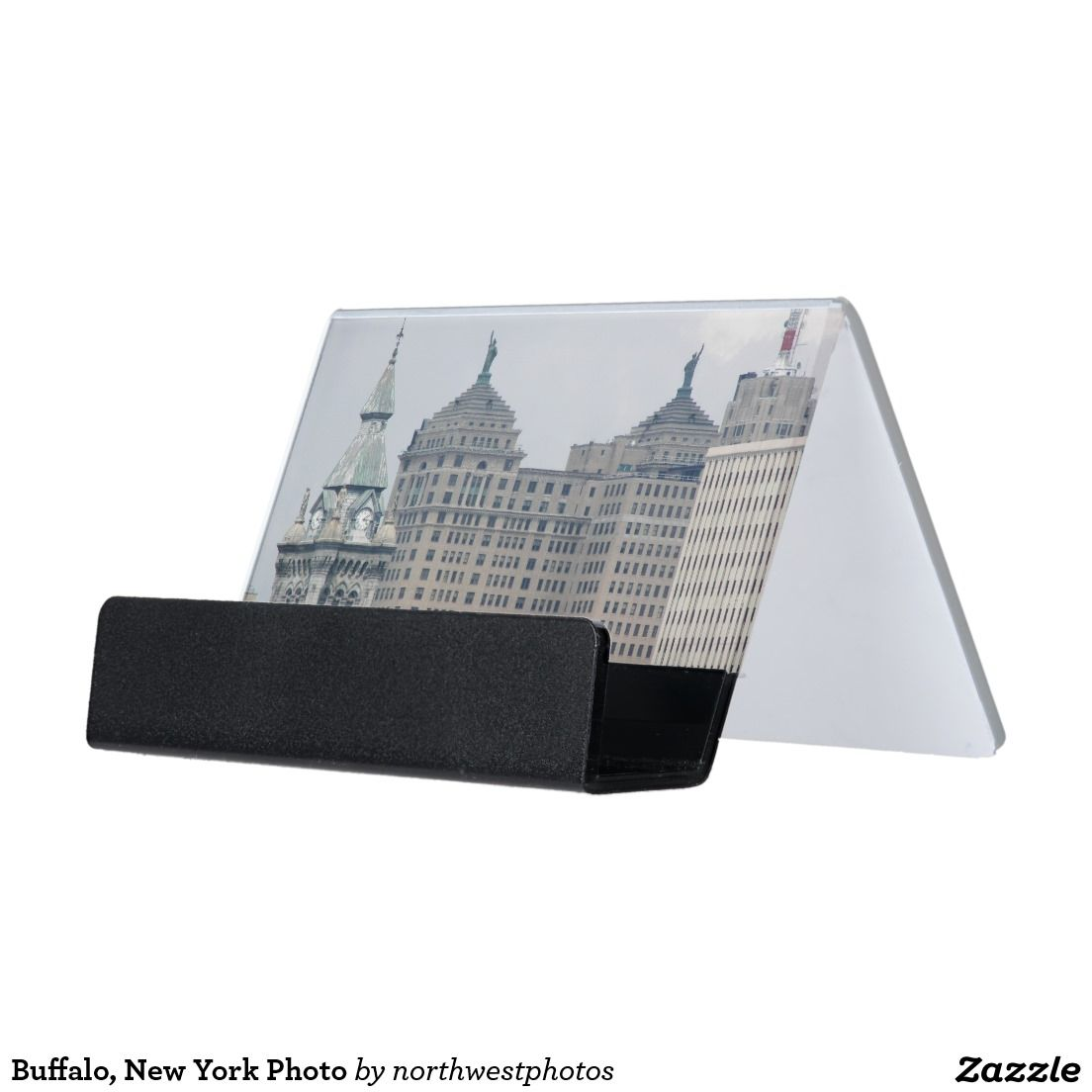 Buffalo new york photo desk business card holder stuff sold on buffalo new york photo desk business card holder reheart Gallery